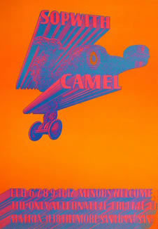 Sopwith Camel by Moscosco